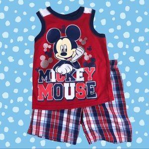Disney Mickey Mouse Tank & Shorts Set